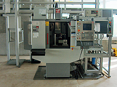 Automation Haas-Maschine